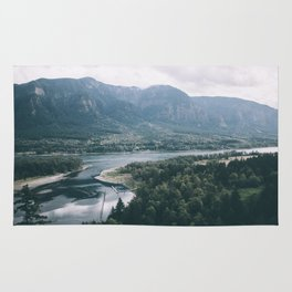 Columbia River Gorge IV Rug
