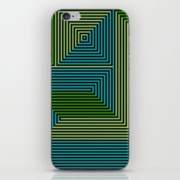 concentric 07 iPhone Skin