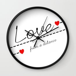 Distant Love Wall Clock