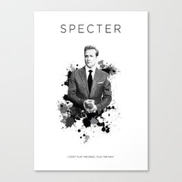 Certified Badass: Harvey Specter Canvas Print