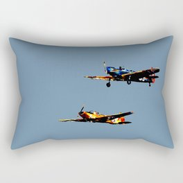 The Joy of Flight Rectangular Pillow