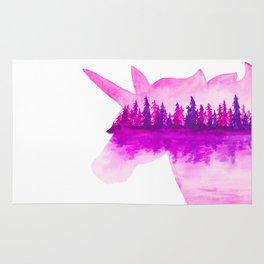 Unicorn Reflection Rug