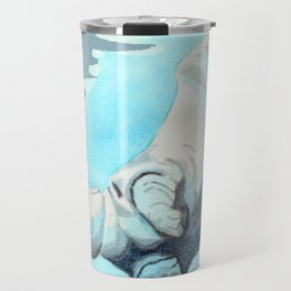 Baby Hippo with a Twist Underwater Fantasia Ballet Travel Mug