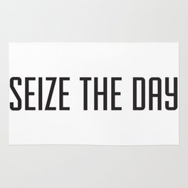 Seize the day Rug
