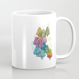 Bosque de pinos magicos Coffee Mug