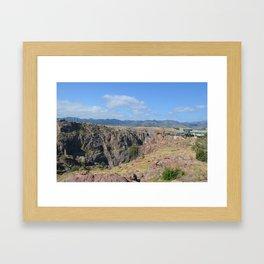 Royal Gorge Bridge Framed Art Print