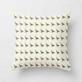 Fruit Dove Watercolour Throw Pillow