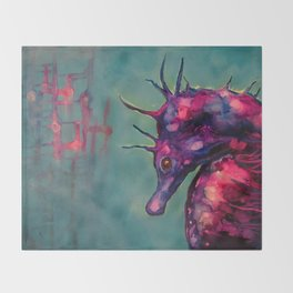 Dreaming In The Deep Throw Blanket