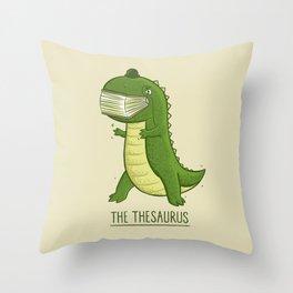 Synonyms Throw Pillows | Society6