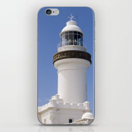 Byron Bay Lighthouse blue Sky iPhone Skin