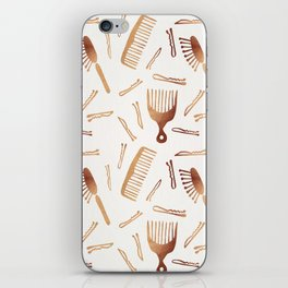 Good Hair Day – Rose Gold Palette iPhone Skin