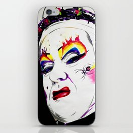 Sister Nora Torious iPhone Skin