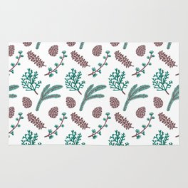 The Pine Pattern Rug