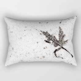 there in the snow Rectangular Pillow
