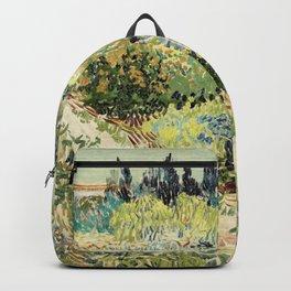 Vincent Van Gogh : Garden at Arles Backpack