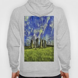 Stonehenge Vincent Van Gogh Hoody