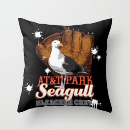 AT&T Seagull - Bleacher Crew II Throw Pillow