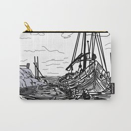 boats on the sea . https://society6.com/vickonskey/collection Carry-All Pouch
