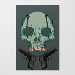 Abe Sapien Skull Canvas Print