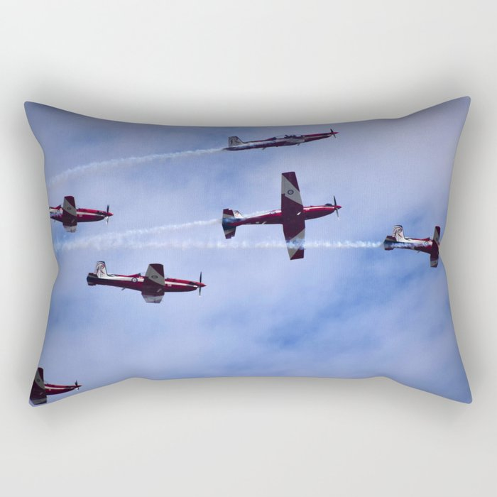 Red In The Sky Rectangular Pillow