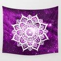 Purple Galaxy Mandala by julieerindesigns