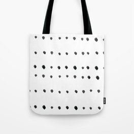 Modern boho dot Tote Bag