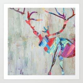 Rhizome Deer Art Print