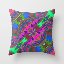 Butterfly Coming Out Throw Pillow