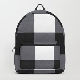 Gingham Dark Style Backpack