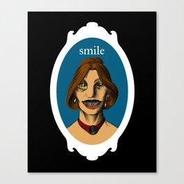 Smiler Canvas Print