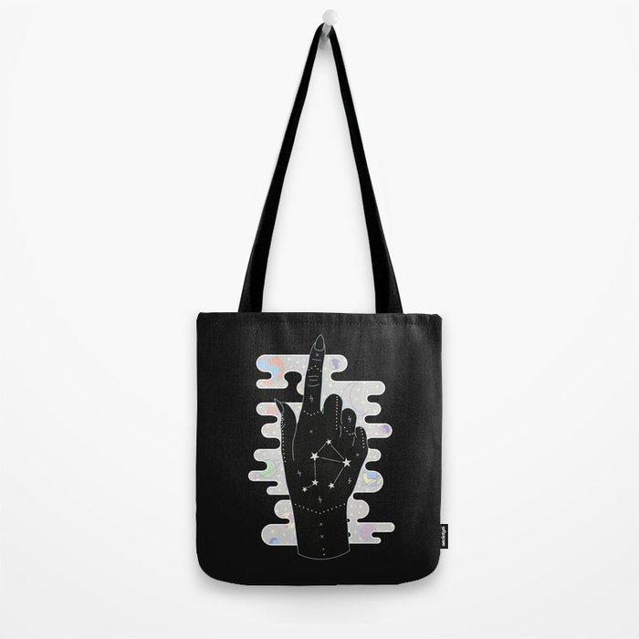 Libra - Zodiac Illustration Tote Bag