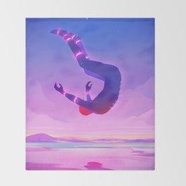 Falling Throw Blanket