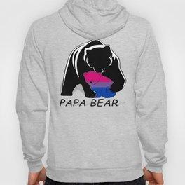 Papa Bear Bisexual Hoody