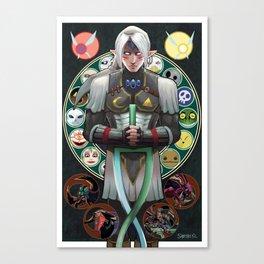 Fierce Deity Link - Majora's Mask Canvas Print