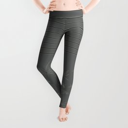 Dragonfly Pattern on Warm Grey Leggings