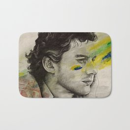 Rei Do Brasil: Tribute to Ayrton Senna da Silva Bath Mat