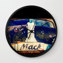 Greetings from the Rustbelt II:  Big Mack Wall Clock
