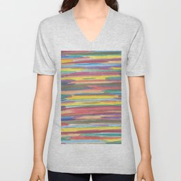 Rainbow Spectrum Unisex V-Neck