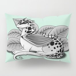 Poisonous Dragon-Teal Palette Pillow Sham