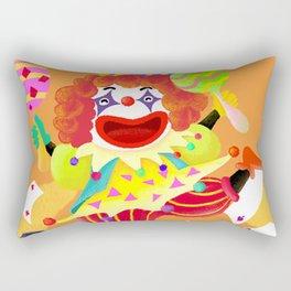 April Fool Clown Rectangular Pillow