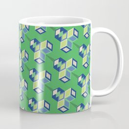 CUBIC LEAVES Coffee Mug