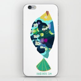 Geishas at sea iPhone Skin