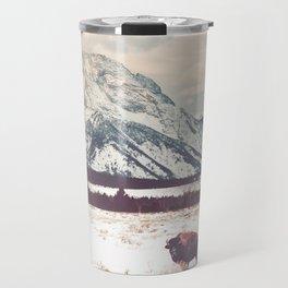 Bison & Tetons Travel Mug