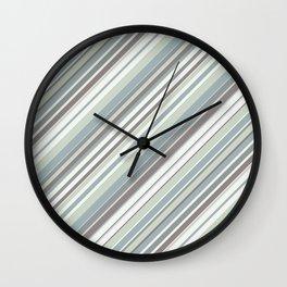 Just Stripes 2 Wall Clock