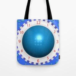 BLUE PUMP Tote Bag