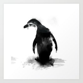 little pingu Art Print
