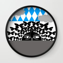 earth mama Wall Clock
