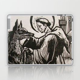 Compassion for a werewolf Laptop & iPad Skin