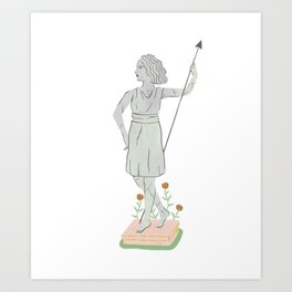 Pride in Scars Art Print