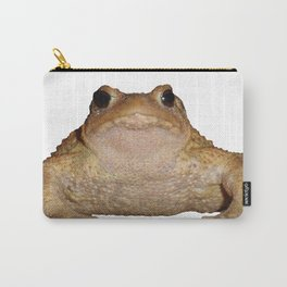 Bufo Bufo European Toad  Isolated Carry-All Pouch